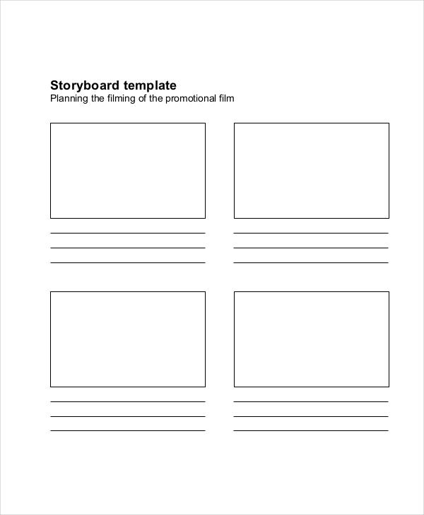 film storyboard template1