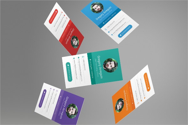22 business card design free psd eps illustrator for Material design business card