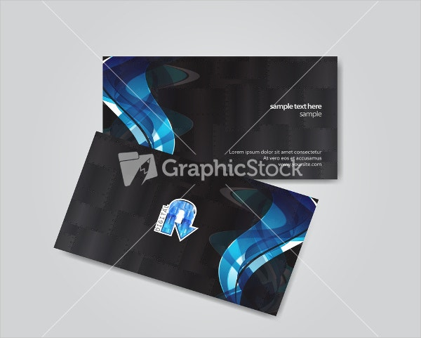 Vector Abstract Business Card