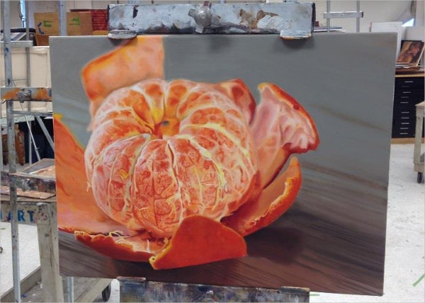 Photorealism Orange