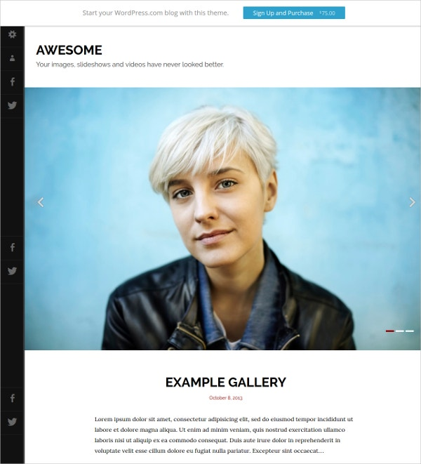 Awesome Video Blog WordPress Theme