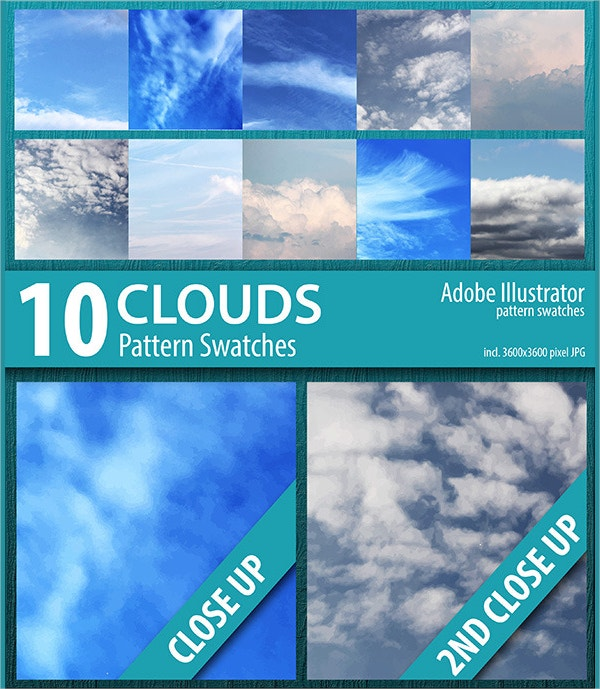 sky clouds pattern