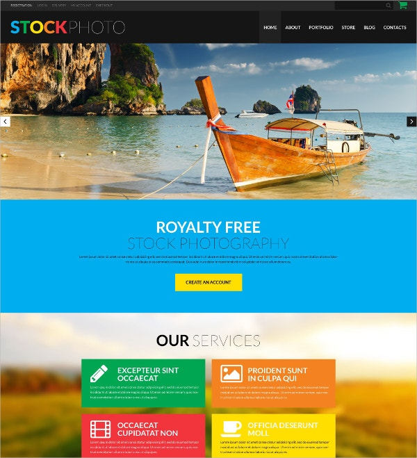 Photography & Video Blog WooCommerce Theme $114