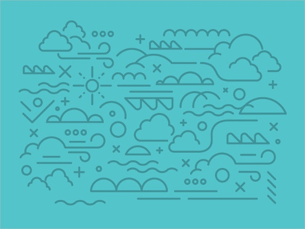 hr cloud pattern