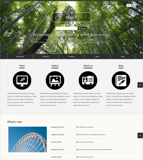 free business concrete5 theme
