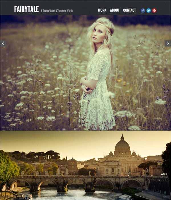 Wedding Photography Portfolio Concrete 5 Theme $43