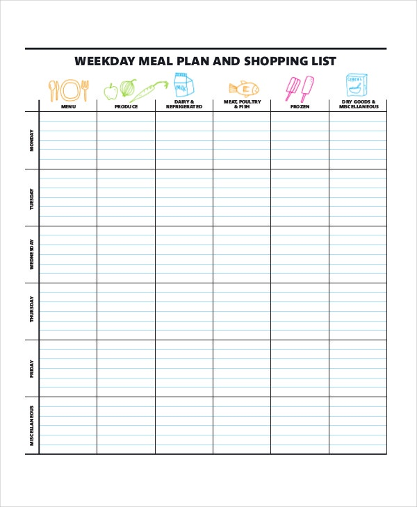 weekly-meal-planner-with-shopping-list-template