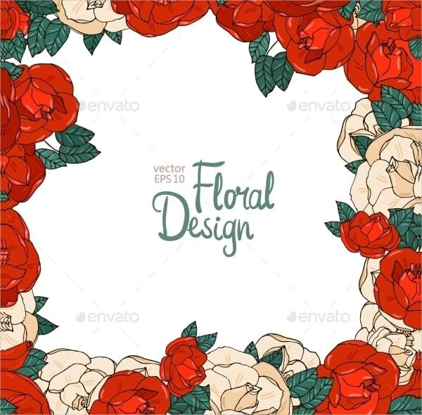 vintage floral vector1