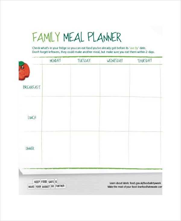 weekly-family-meal-planner