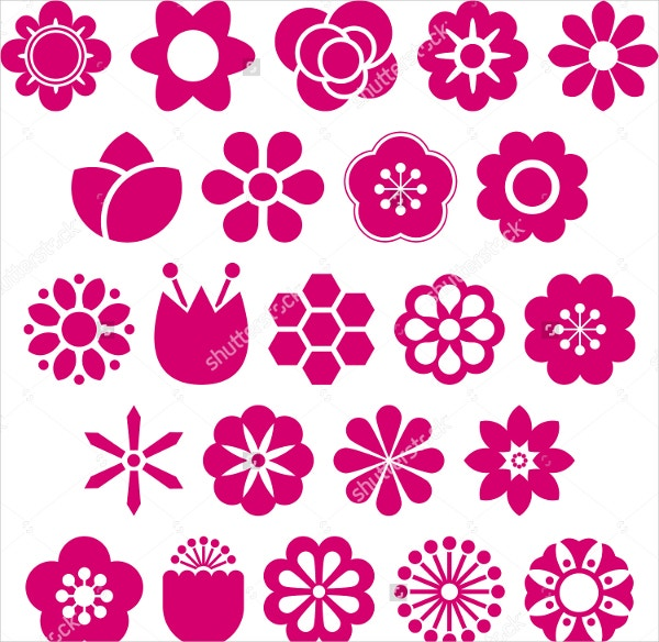 Set of Floral Vector