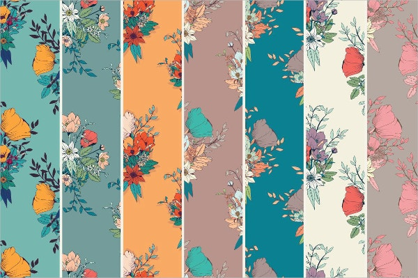 decorative floral vector