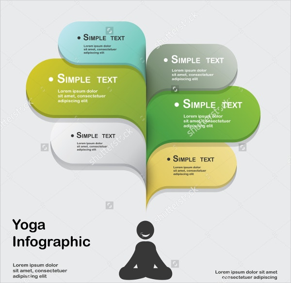 Infographic Yoga Flyer