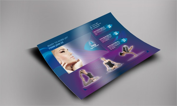 Meditation and Yoga Flyer Template