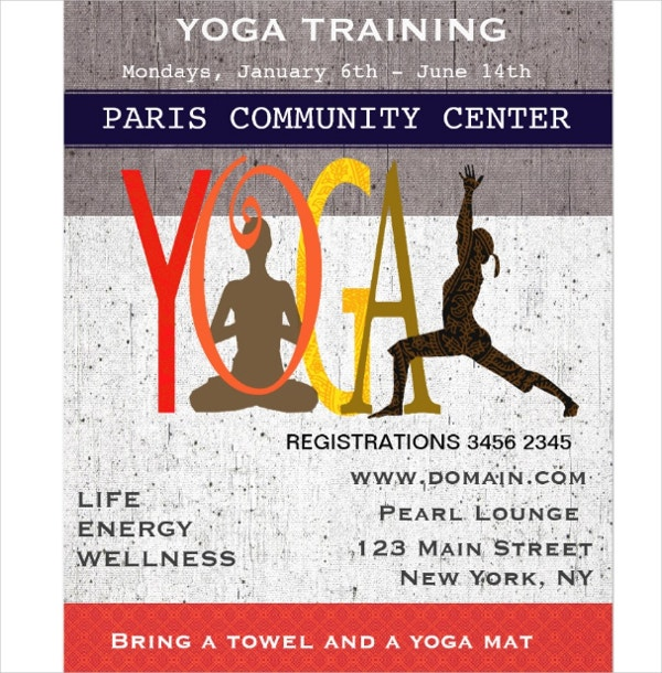 Yoga Flyer Ideas