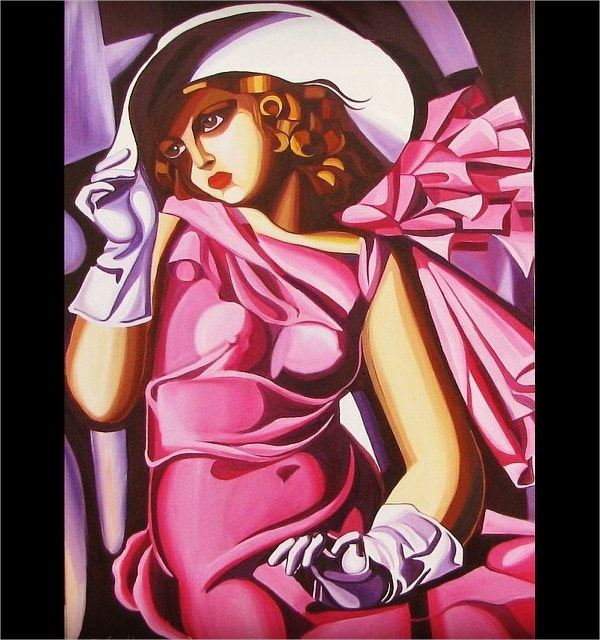 artist deco art painting