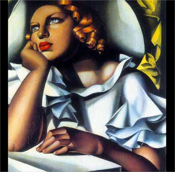 Talented Female Art Deco