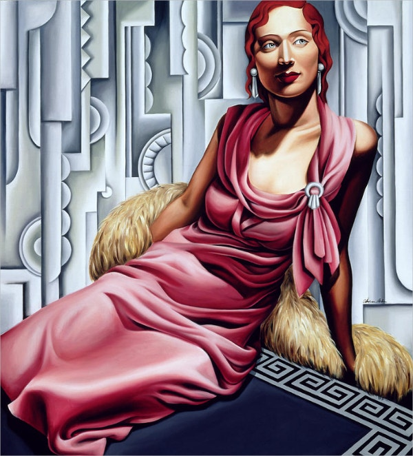 La Vie En Rose Deco Art Painting