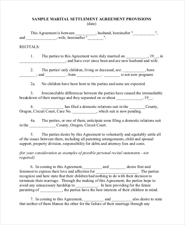 Separation Notice Template - 13+ Free Word, Pdf Document Downloads