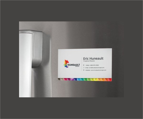 Fridge Magnet Business Card