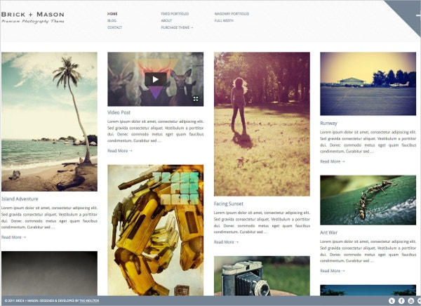 minimalist photography blog theme 49