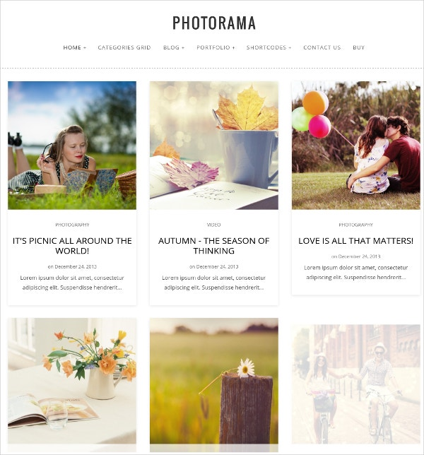 photography parallax blog wp theme 49