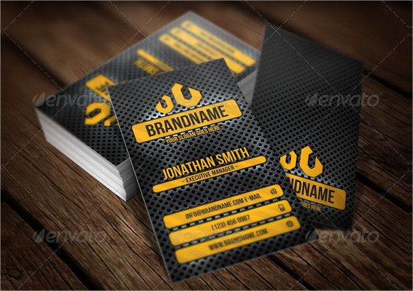Stylish Metal Business Card