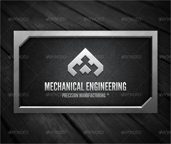 Brushed Metal Business Card