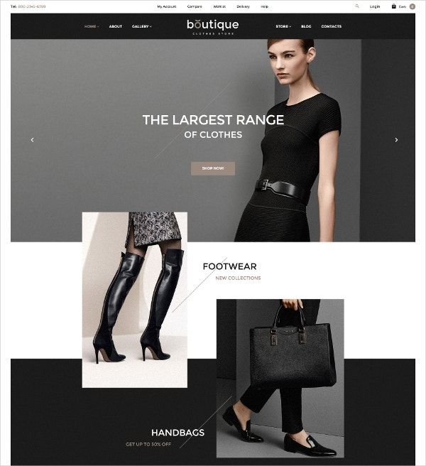 Boutique & Largest Collection Clothes WooCommerce Theme $114