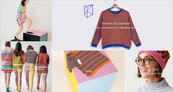 elegant grid shopify blog theme