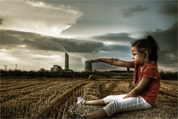 Pollution Concept Photography