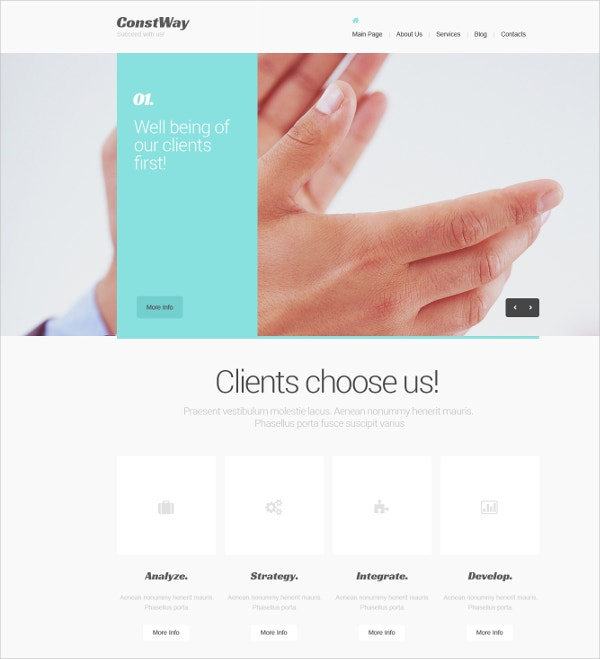 Follow Marketing Agency Drupal Template $67