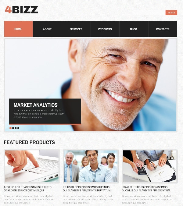 Marketing Agency Company Drupal Template $75