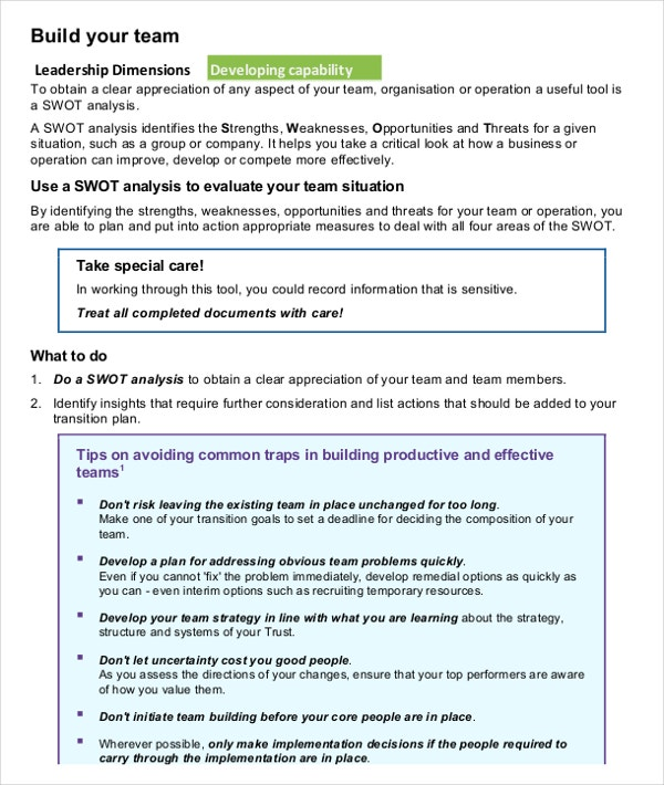 10+ Swot Analysis Examples Download In Word, Pdf | Free & Premium