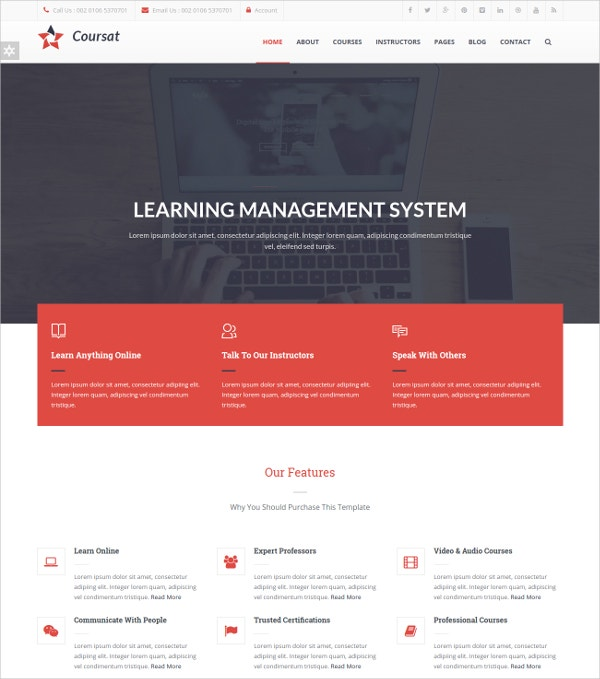 creative drupal website template 48