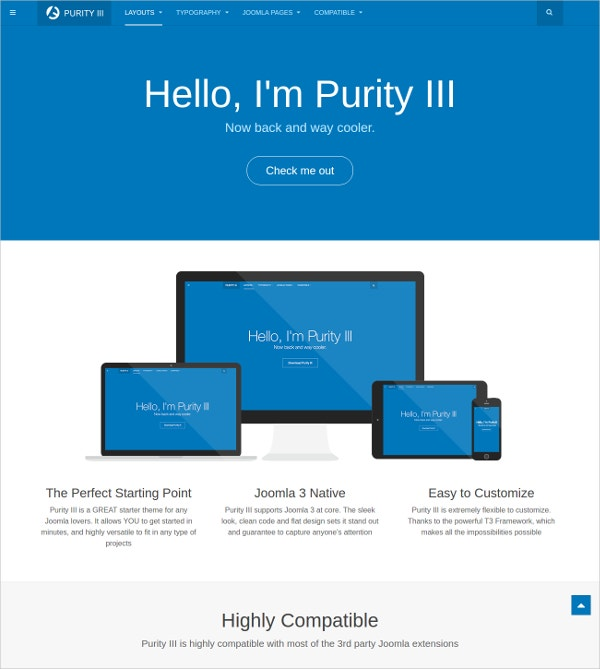 Simple Free Responsive Joomla Template