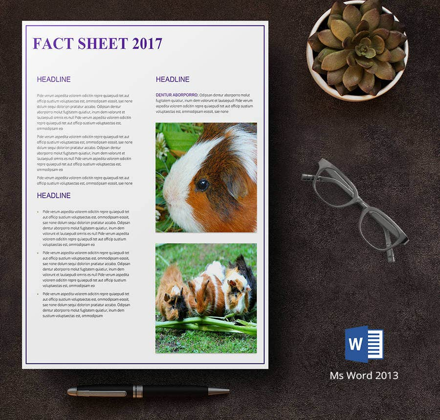 endangered species fact sheet template1