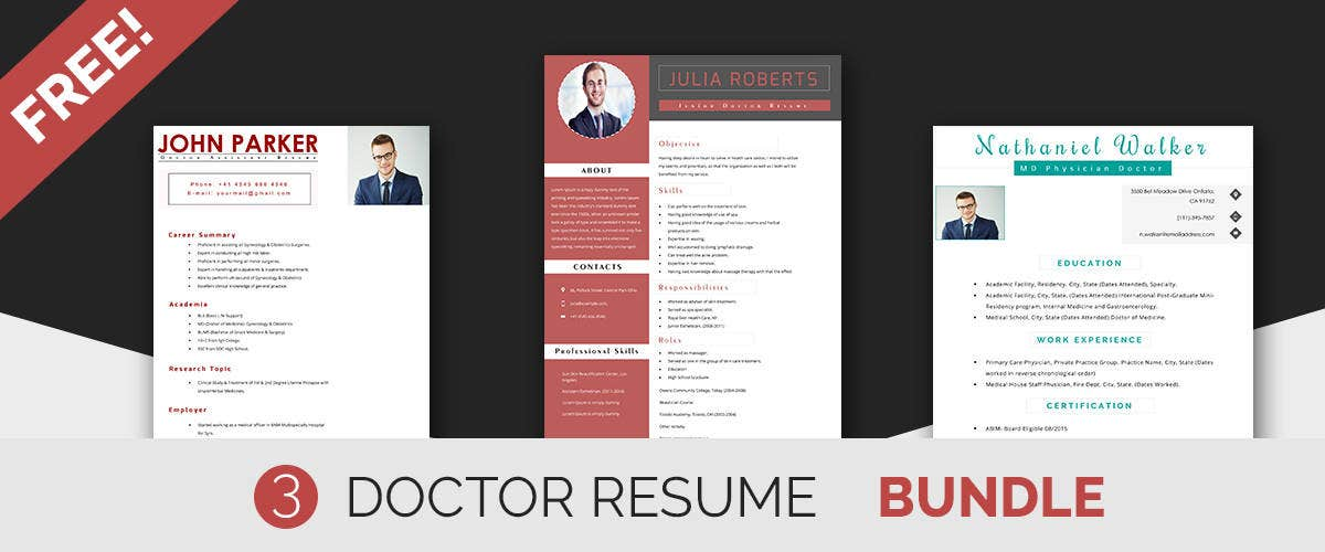 doctor resume templates
