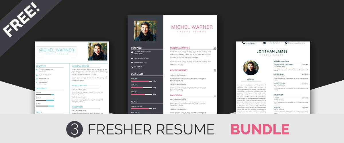 Fresher Resume Templates