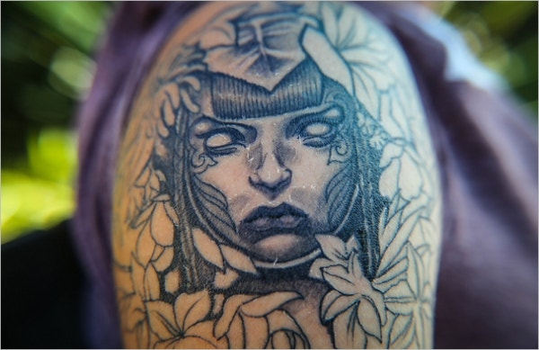 Gothic Cool Tattoo