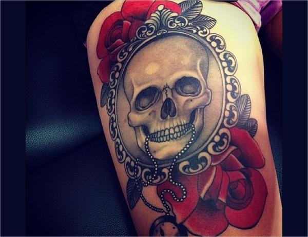 hunter cool tattoo design