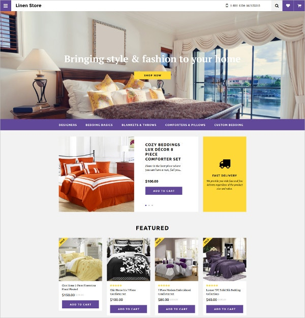 interior design furniture store opencart template 89