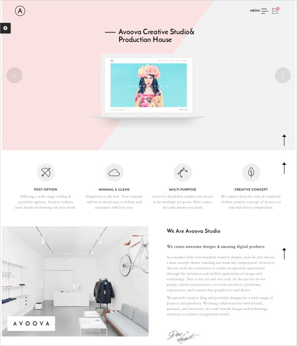 Creative Design Business WordPress Theme $59