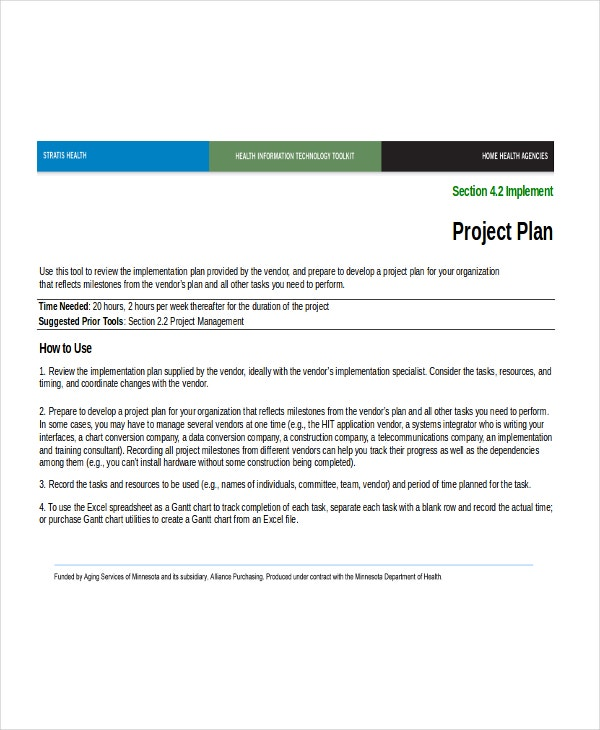 Excel project plan template 10 free excel document for Project management work package template