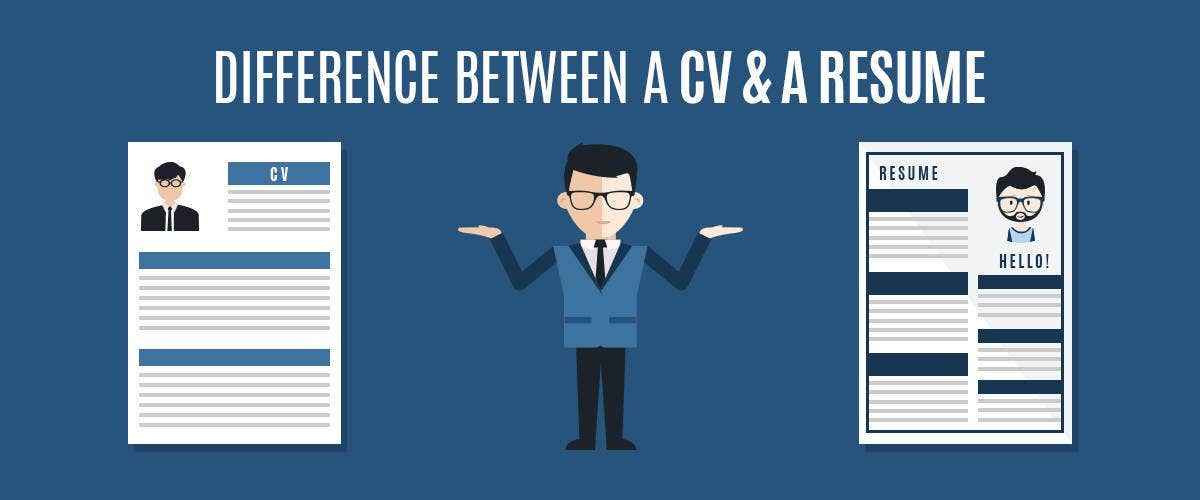 Difference Cv Resumes Resume Cv Difference Free Resume Templates