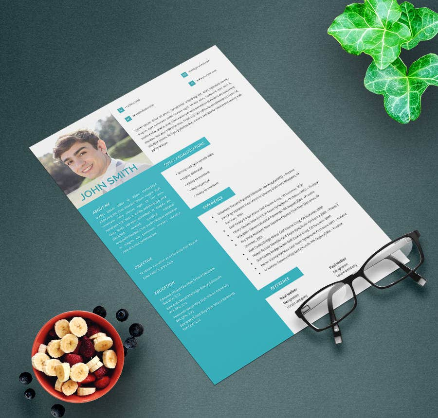 Experienced Golf caddy Resume Template