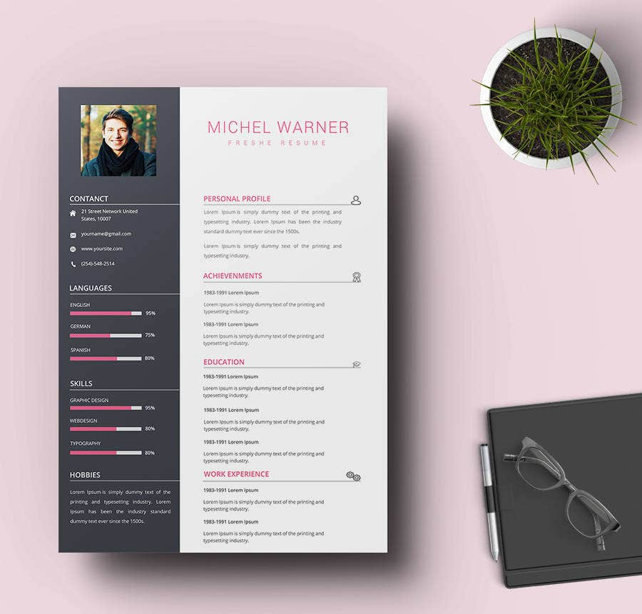 Technical Fresher Resume Template