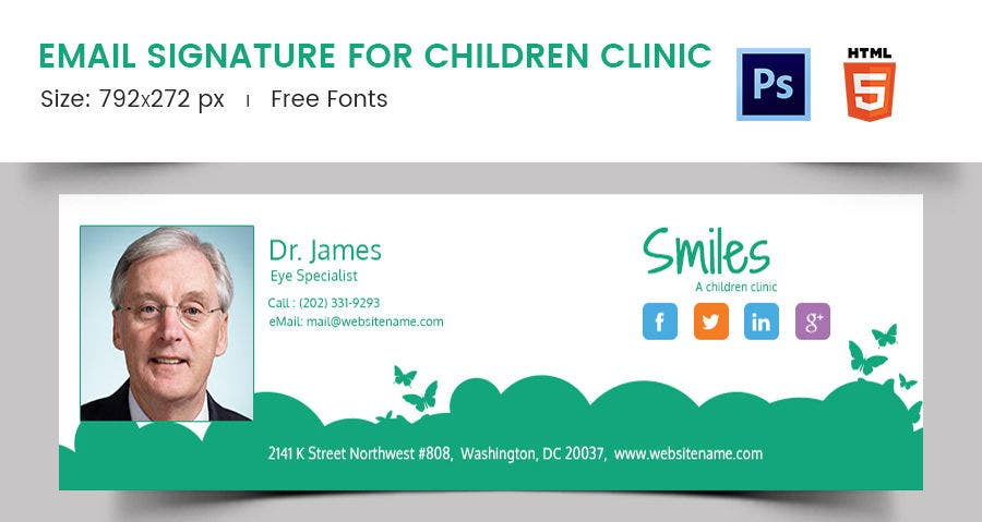 Email Signature for Children Clinic