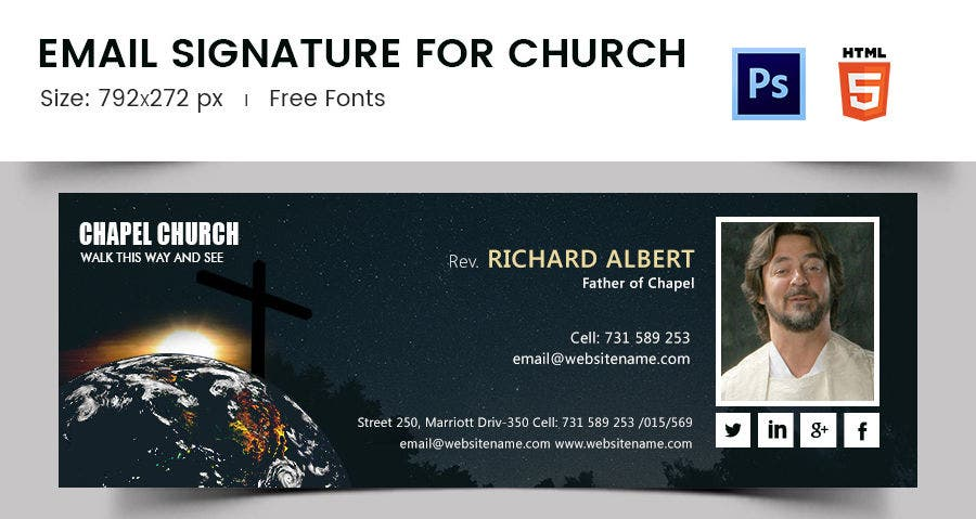 Email Signature for Church