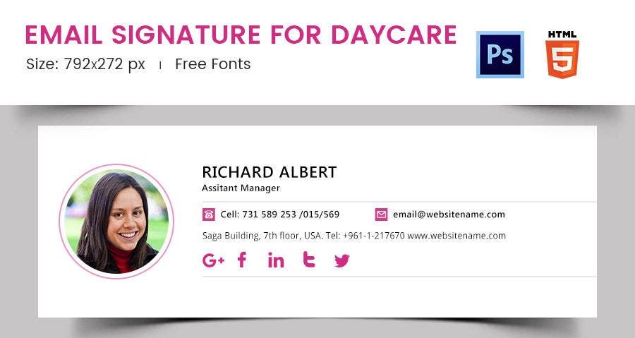 Email Signature for Daycare