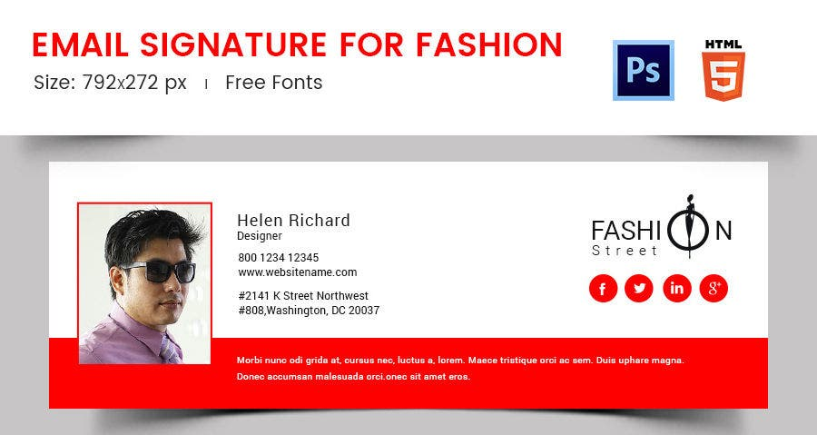 Email Signature for Fashion